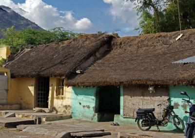 De jolies maisons à Tiruvannamalai