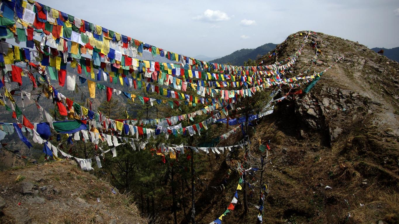 A Shimla, la communauté tibétaine est très présente