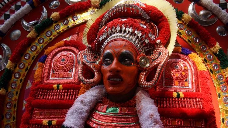 Le rituel du Theyyam : Vue d'ensemble