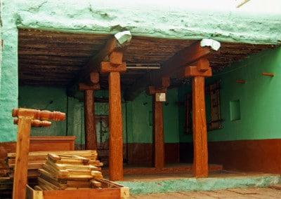 La maison du menuisier, à Badami (Karnataka)