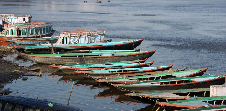 Sur les bords du Gange, à Varanasi (2)