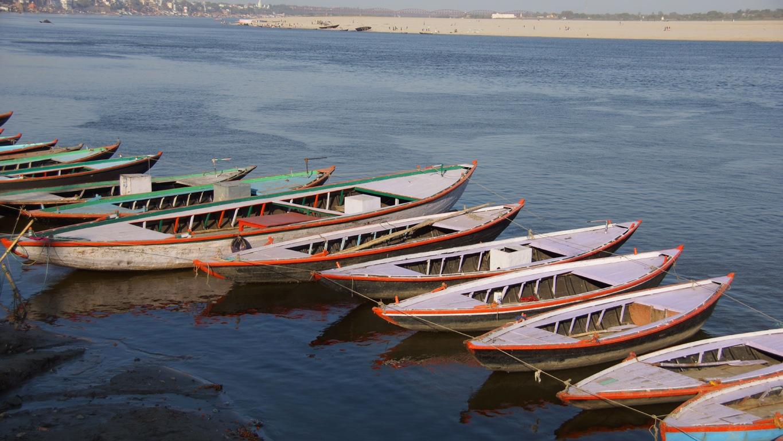 Sur les bords du Gange, à Varanasi (3)