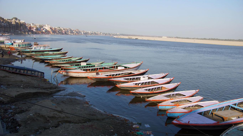 Sur les bords du Gange, à Varanasi (4)