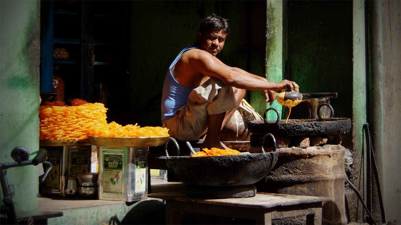 Douceurs dans les rues de Nawalgarh
