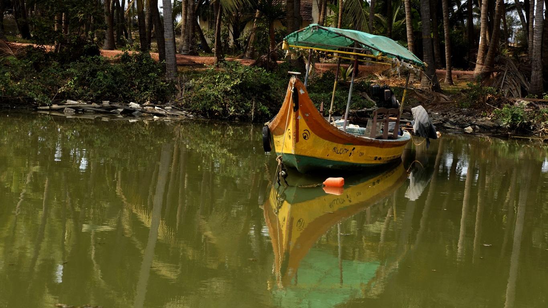 Sur les backwaters de Payyanur