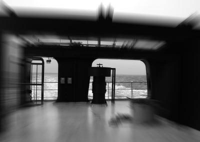 Un de mes pôles d'attraction préféré lors de ma traversée vers les Antilles françaises, à bord du cargo Fort Saint Pierre