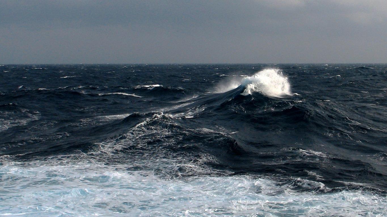 Début de tempête dans le Golfe de Gascogne