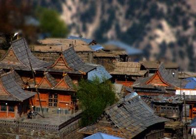 une magnifique vue en surplomb de Kalpa