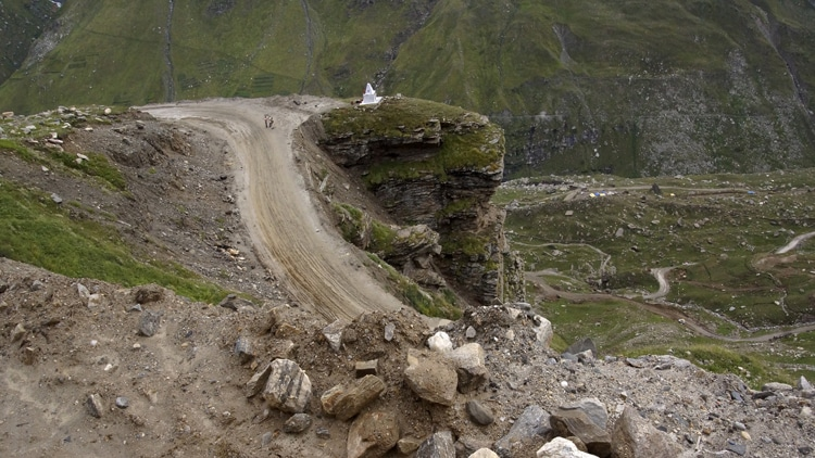 Mortel franchissement du Rothang Pass