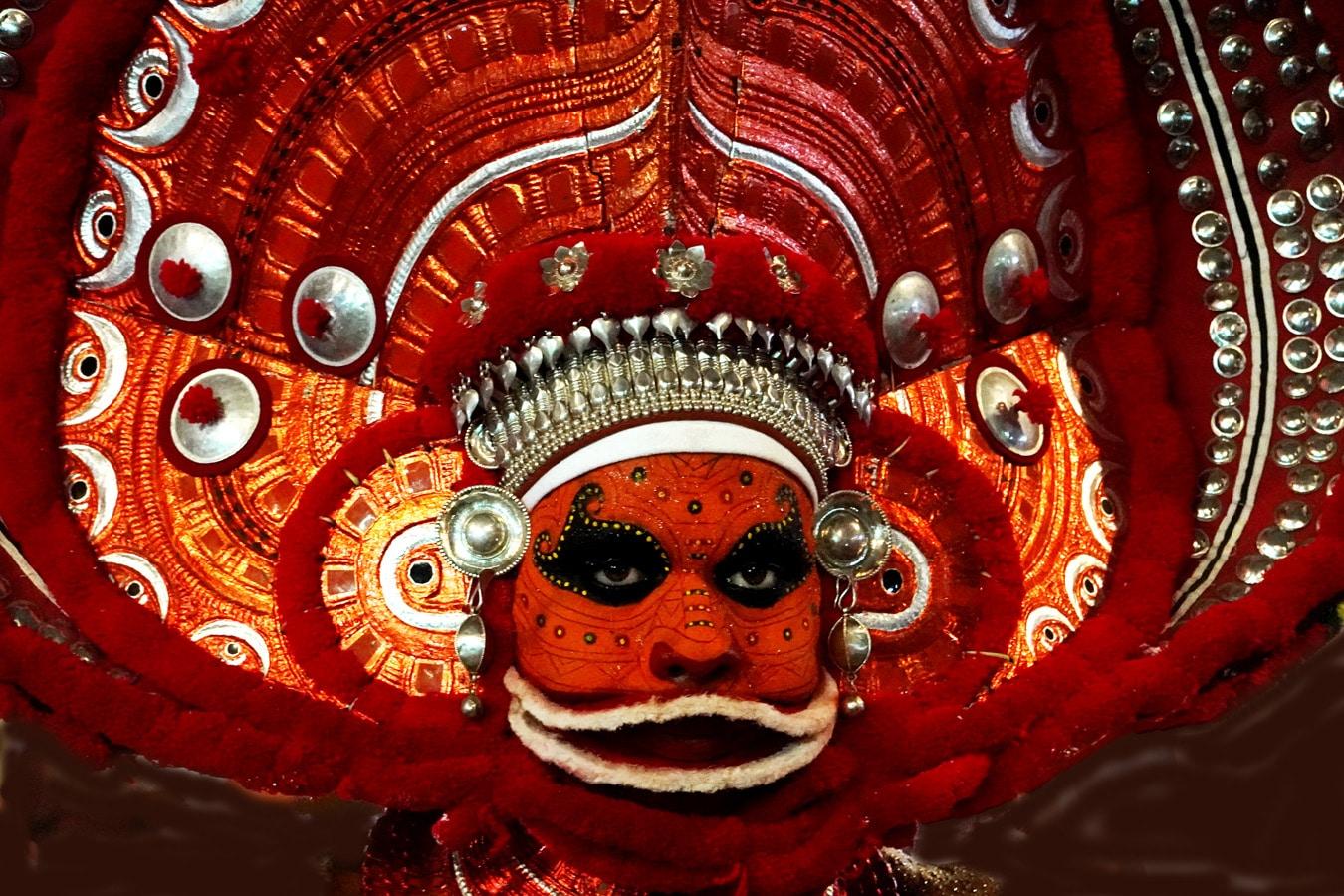 Kandanarkelam theyyam rituel du theyyam Kannur Malabar