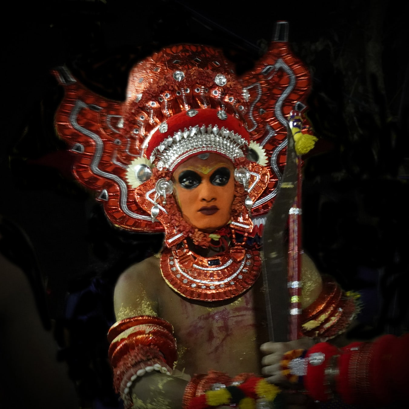 Vairajathan theyyam rituel du theyyam Kannur Malabar