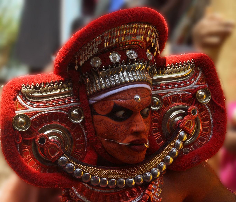 Rituel du theyyam à Kunithala - Kannur - Malabar