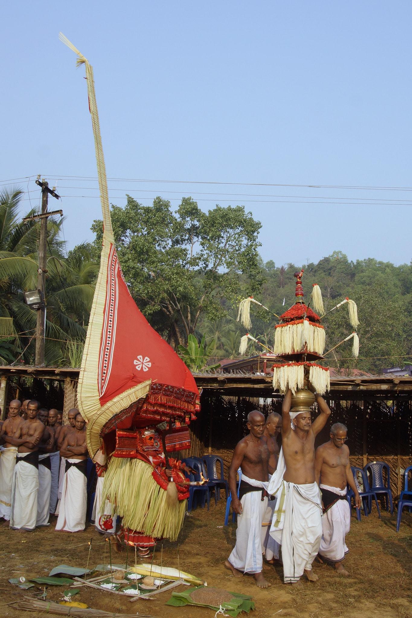 Padarkulangararituel - Nileshwaram - rituel du theyyam - Kannur - Malabar