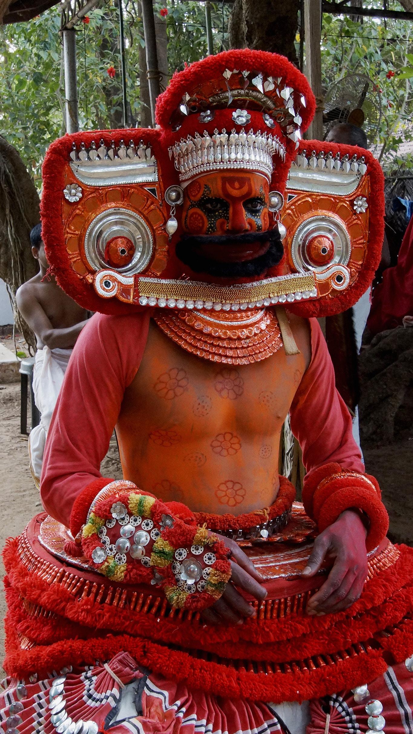 Rituel du theyyam - Kannur - malabar