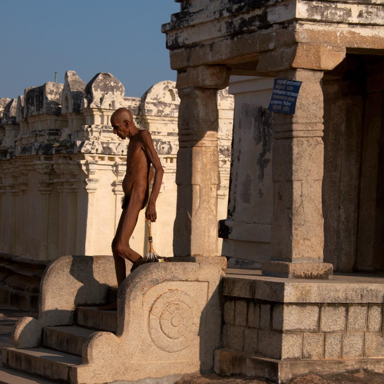 homme dieu nu jain Chandragiri - Sravanabelagola - Karnataka